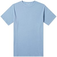 Officine Generale Pigment Dyed Tee Blue