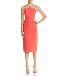 Laundry By Shelli Segal Strappy Cutout Dress 100 Exclusive Hibiscus