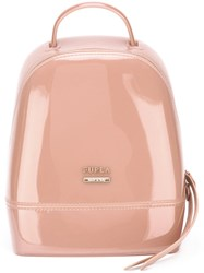 Furla Mini Backpack Women Pvc One Size Pink Purple