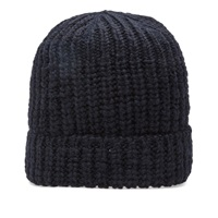 Our Legacy Knitted Hat Fluffy Marine