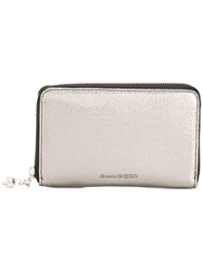 Alexander Mcqueen 554198Css3i 1300 Silver Leather