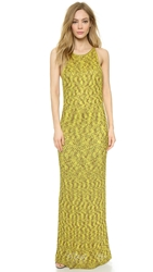 Wgaca Missoni Long Dress Green