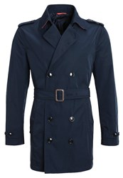 United Colors Of Benetton Trenchcoat Blue Dark Blue