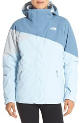 The North Face Women's 'Cinnabar' Triclimate 3 In1 Insulated Jacket Cool Blue Grey