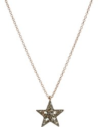 Annoushka Love Diamonds 18Ct Rose Gold And Diamond Star Pendant Necklace