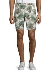 Slate And Stone Novelty Ross Printed Shorts White Palm