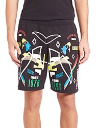Marcelo Burlon Osorno Shorts Black