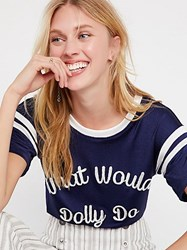 Understated Leather What Would Dolly Do Tee By At Free People