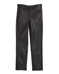 Ralph Lauren Childrenswear Coated Skinny Jeans Black