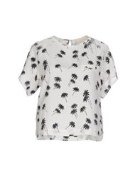 Band Of Outsiders Shirts Blouses Women White