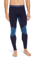 Icebreaker Bodyfitzone Tm 260 Zone Leggings Midnight Navy Prussian Blue