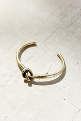 Urban Outfitters Knot Cuff Bracelet Gold