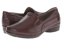Naturalizer Channing Bridal Brown Leather Women's Slip On Shoes