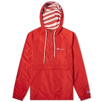 Champion Reverse Weave Popover Jacket Red