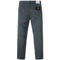 Stone Island Slim Fit Cotton Satin Pant