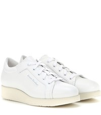 Acne Studios Kobe Leather Sneakers White