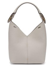 Anya Hindmarch Build A Bag Grained Leather Tote Bag White
