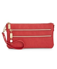 Styleandco. Style And Co. Mini Convertible Wristlet Crossbody Only At Macy's Scarlet