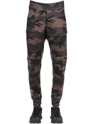 Hydrogen La Cotton Sweatpants Camouflage