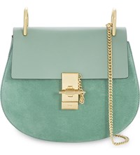 Chloe Drew Small Saddle Cross Body Bag Happy Green