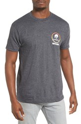 Rip Curl Men's Search Vibes Graphic T Shirt Charcoal