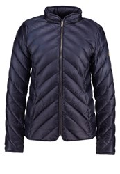 Michael Michael Kors Down Jacket New Navy Dark Blue