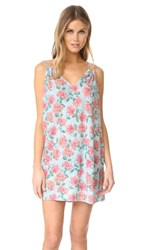 Wildfox Couture Dusty Rose Lily Slip Dress Multi