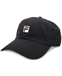 Fila Heritage Cotton Baseball Cap Black