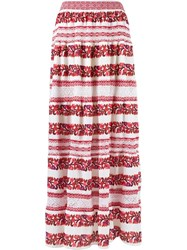 Cecilia Prado Knit Maxi Skirt Red