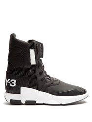 Y 3 Noci High Top Trainers Black Multi