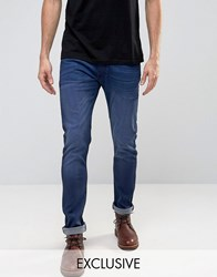 Lee Luke Skinny Jeans Flyer Blue Flyer Blue