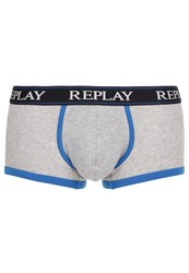 Replay Shorts Light Grey Blue