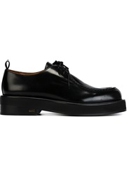 Ami Alexandre Mattiussi Classic Lace Up Shoes Black
