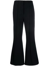 Dorothee Schumacher Flared Trousers Black