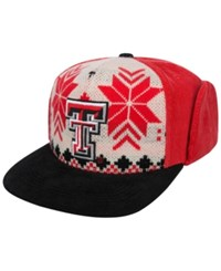 Top Of The World Texas Tech Red Raiders Christmas Sweater Strapback Cap