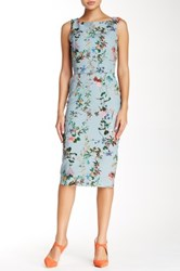 Single Dress Floral Print Sheath Dress Multi