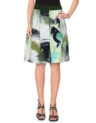 Brian Dales Skirts Knee Length Skirts Women Green