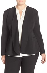 Plus Size Women's Nydj Drape Front Jacket