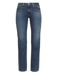 Alexa Chung For Ag The Sabine High Rise Straight Leg Cropped Jeans