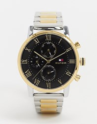 Tommy Hilfiger 1791539 Contrast Gold And Silver Watch