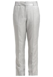Bruuns Bazaar Willy Trousers Light Grey Melange Beige