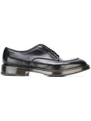 Premiata Classic Derby Shoes Black