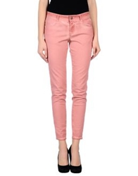 Stella Mccartney Denim Pants Pastel Pink