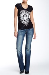 Affliction Jade Patch Jean Blue