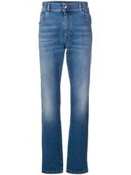 Billionaire Straight Leg Jeans Blue