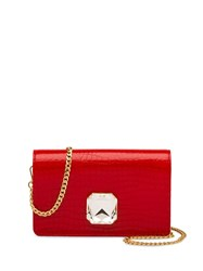 Miu Miu Solitaire Clutch Red
