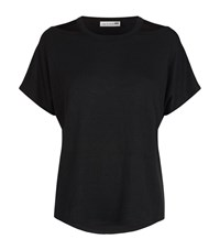 Rag And Bone Cut Out Shoulder T Shirt Female Black