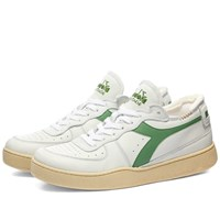 Diadora Mi Basket Row Cut White