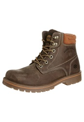 Dockers By Gerli Laceup Boots Braun Brown