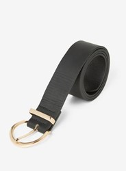 Dorothy Perkins Black And Gold Buckle Jeans Belt